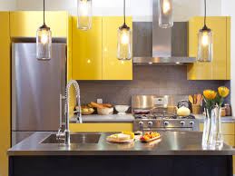 cute yellow and gray kitchen gray and yellow kitchen with glass pendant lighting sleek yellow beautiful modern kitchen lighting pendants yellow