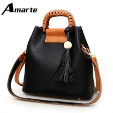<b>Amarte 2019New</b> Women Handbag PU Leather Crossbody Bags ...