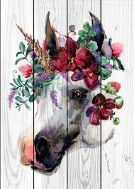 <b>Картина</b> на дереве Лошадь в венке <b>80 х 120 см</b> купить, цены в ...