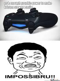 Playstation 4 by porkychop - Meme Center via Relatably.com