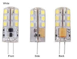 Viewi <b>10x</b> ampolletas g4 <b>led</b> bulb home Chandelier lightiing12 volt ...