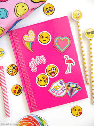 Diy Diy Video Easy Customized Notebooks Party Ideas Party Printables