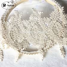 3Yards <b>Width 13cm</b> Beige white Color <b>Lace</b> Trim Water Soluble ...