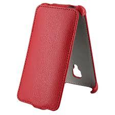 <b>Чехол</b> Flip Case <b>Activ Leather для</b> Micromax Bolt D305 (красный ...