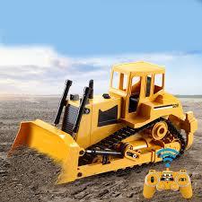 <b>2.4G RC Truck Crawler</b> Bulldozer 1:20 Caterpillar Tractor Crawler ...