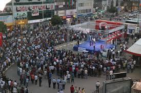 Iğdır'da 15 Temmuz Şehitleri anısına boks gecesi