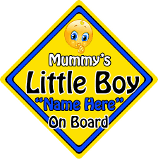Non Personalised Child/<b>Baby On Board</b> Car Sign ~ Our Little ...