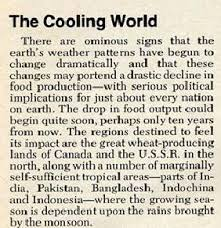 Image result for newsweek global cooling article 1975