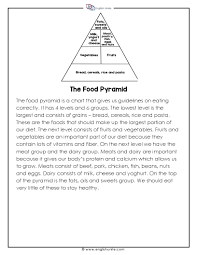 english unite short story the food pyramid english unite