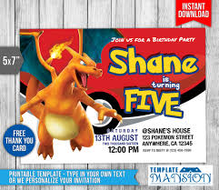 charizard invitation pokemon invitation psd by templatemansion charizard invitation pokemon invitation psd by templatemansion