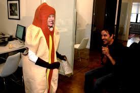 ttt hot dog in an elevator alyssa arminio why yes