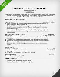 nursing resume sample  amp  writing guide   resume geniusnursing rn resume sample