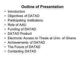 Aau electronic library thesis and dissertation online effectively  you need to write