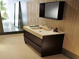 bathroom modern vanity designs double curvy set: dark brown wooden floating vanity