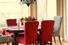 Fabric Chairs Dining Room Dining Room Contemporary Kitchen Design Beautiful Modern House