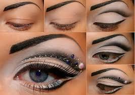 dramatic eye makeup tutorial for night look