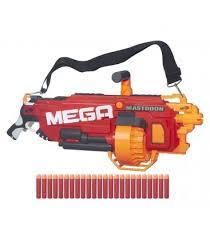 """Бластер <b>Nerf Mega</b> """"Мастодон"""", <b>игрушка Hasbro</b> B8086 - купить в ..."""