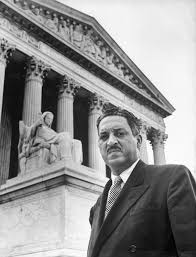 the awakening of thurgood marshall the marshall project thurgood marshall outside the supreme court building in 1955
