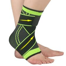 2 Pack Protective <b>Elastic</b> Ankle Brace Guard <b>Foot</b> Support Sport ...