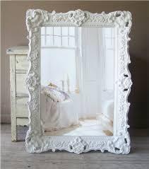 white baroque mirror large shabby chic mirror vintage 35900 via etsy amazing white shabby chic