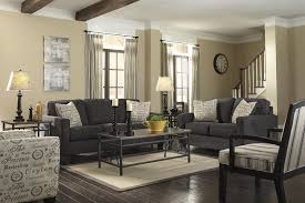 Two Loveseat Living Room Signature Design By Ashley Alenya Charcoal 2 Piece Sectional