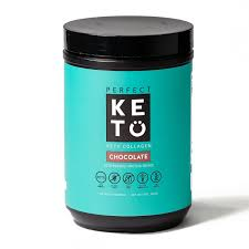 Perfect Keto Grass-Fed <b>Keto Collagen</b> (with MCT) Protein for Ketosis