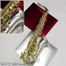 Vintage King H. N. White Zephyr <b>Eb Alto Saxophone</b> Silver Plated ...