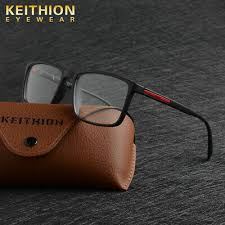 <b>KEITHION TR90</b> Men Women Optical Square <b>Eyeglass</b> Frame ...