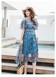 2019 Plus Size Elegant Women Korean Dresses Party <b>Off Shoulder</b> ...