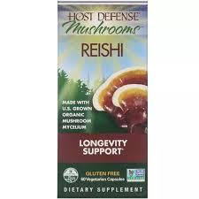 <b>Fungi</b> Perfecti Host Defense <b>Reishi Mushrooms</b>