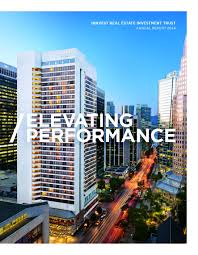 financial reports innvest reit 2014 annual report