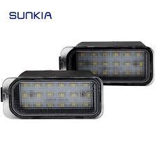 <b>2pcs</b>/<b>lot</b> 12V <b>Car</b> LED Number License Plate <b>Light</b> 18 SMD Super ...