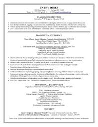 sample of resume for teaching job cipanewsletter resume template for teachers visual merchandising cover letter