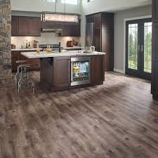 Laminate For Kitchen Floors Vintage Pewter Oak Natural Laminate Floor With Wear And Spill