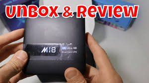 <b>M18 Smart</b> TV Box Android 7.1.2 Amlogic S905W Quad-Core 2Gb ...