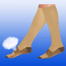 Jinjin 5 Pairs Men Women <b>Copper Fiber</b> Pure <b>Compression Socks</b> ...