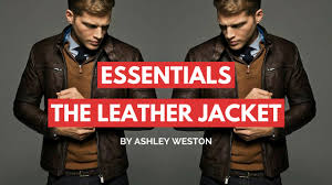 How To Choose & Wear a <b>Leather</b> Jacket - <b>Men's</b> Wardrobe Essentials