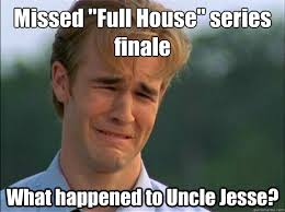 """Missed """"Full House"""" series finale What happened to Uncle Jesse ... via Relatably.com"""