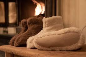 <b>Super warm</b> alpaca slippers