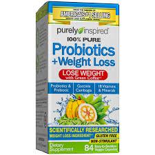 Purely Inspired, <b>Probiotics</b> + <b>Weight</b> Loss Tablets, <b>Probiotic</b> ...
