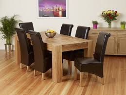 oak dining table and chairs picture amazing dark oak dining