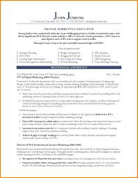 marketing resume examples monthly bills template related for 9 marketing resume examples