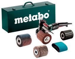 Щеточная <b>шлифовальная машина Metabo SE</b> 17-200 RT Set + ...