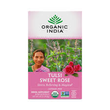 <b>Tulsi Sweet Rose Tea</b> by Organic India - Thrive Market