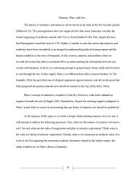 mimesis  plato and arts  philosophy essay   studentsharemimesis  plato and arts  essay example