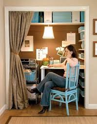women working in home office closet inspiration design amazing home offices women