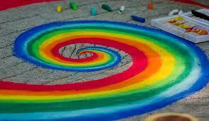 Image result for easy sidewalk chalk art