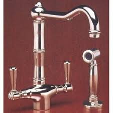 country kitchen column spout: get quotations middot rohl alpwspn  country kitchen single hole faucet with porcelain levers sidespray and column spout