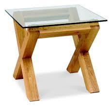 Lyon Oak Bedroom Furniture Lyon Oak Glass Lamp Table Oak Furniture Solutions