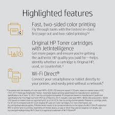 <b>HP LaserJet Pro M254dw</b> Wireless Color Laser Printer at Staples